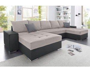 50 sur canap angle panoramique convertible m ridienne 3 suisses. Black Bedroom Furniture Sets. Home Design Ideas