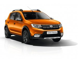 une voiture dacia sandero stepway explorer tce 90 orange. Black Bedroom Furniture Sets. Home Design Ideas