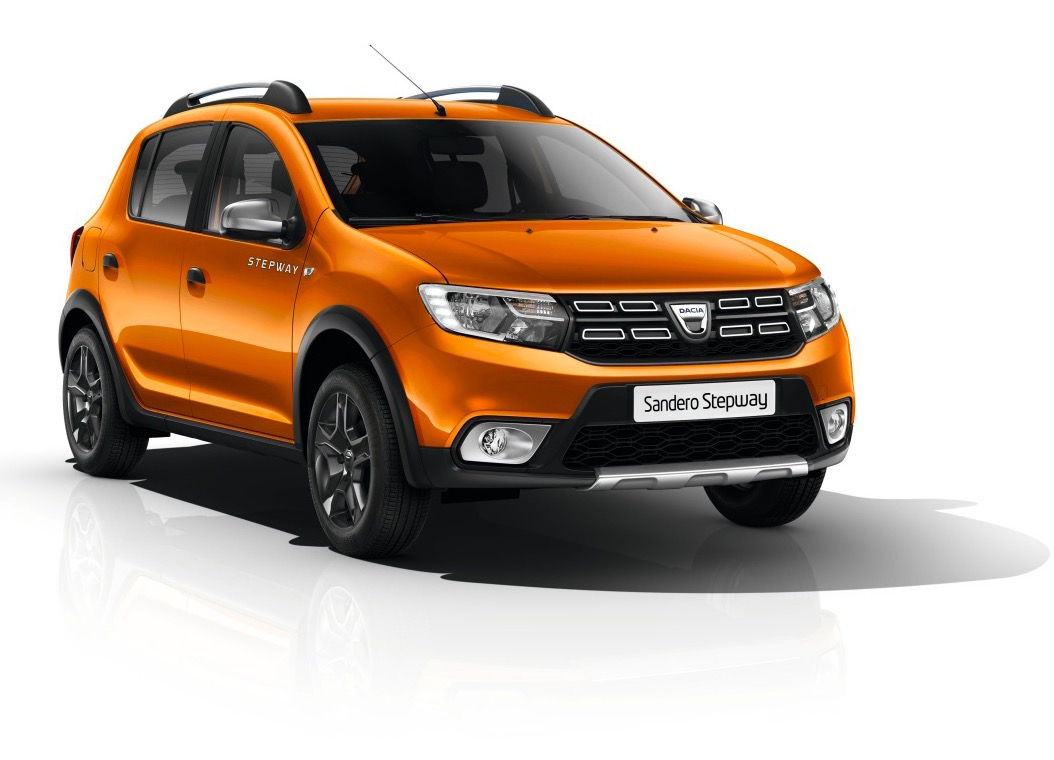 une voiture dacia sandero stepway explorer tce 90 orange ocre gagner renault. Black Bedroom Furniture Sets. Home Design Ideas