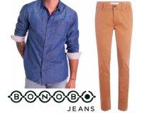 Bonobo Jeans: 1 chemise ou 1 chino acheté = - 30% sur le 2ème