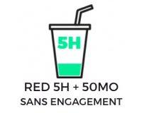 SFR: Forfait mobile 50h d'appels, SMS & MMS illimités + 50 Mo d'Internet à 5€/mois