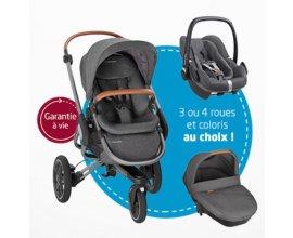Aubert: 1 ensemble Bébé Confort (poussette, coque & nacelle) à gagner