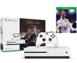 Micromania: Pack Xbox One S 1 To L'Ombre de la Guerre + Fifa 18 à 299,99€