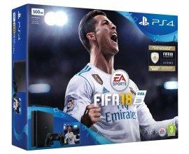 Amazon: Pack Console PS4 Slim 500 Go + Fifa 18 à 235,19€