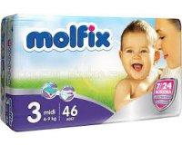 Molfix: 1 échantillon gratuit de couches pour bébé de la marque Molfix