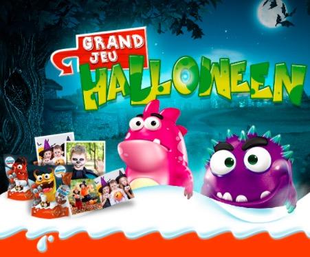 Code promo Kinder : De nombreux cadeaux chocolatés à gagner pour Halloween