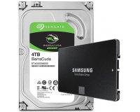 LDLC: Samsung SSD 850 EVO 250 Go + HDD 4 To Seagate BarraCuda à 199,95€