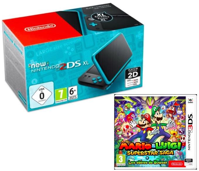 Code promo Jeuxvideo.com : 1 New Nintendo 2DS XL, des jeux Mario & Luigi à gagner