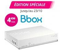 Bouygues Telecom: Bbox : Box Internet + TV + Téléphonie à 4,99€/mois pendant 1 an