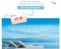 Total: 30 séjours Club Med à gagner avec le Club TOTAL