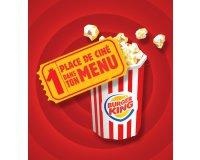 Burger King: 1 menu Kool King 8-11 ans acheté = 1 e-cinéchèque offert pour aller au cinéma