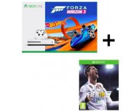 Cdiscount: Pack Xbox One S Forza Horizon 3 Hot Wheels + Fifa 18 à 219,99€