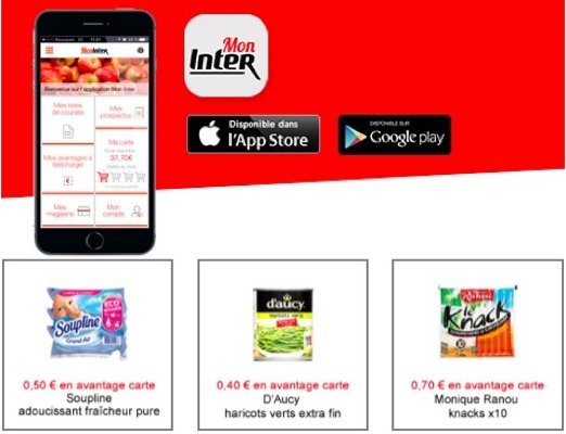 Code promo Intermarché : Bons de réduction à imprimer ou télécharger sur l'application Mon Inter