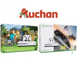 Auchan: Console Xbox One S 500Go + 1 jeu à 159€ au lieu de 279€ (120€ de crédit Wahoo)