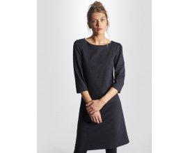 Cyrillus: Robe femme milano de laine marine chiné à 99,90€