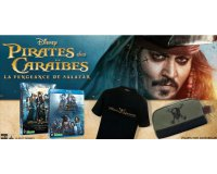 Le JDD: 40 Blu-ray, 10 DVD, 10 tshirts & 5 trousses Pirates des Caraïbes à gagner