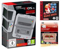 Micromania: 1 New 3DS XL Super Nes acheté = The Legend of Zelda & Super Mario Bros offerts