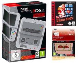 Micromania: 1 New 3DS XL Super Nes acheté = The Legend of Zelda & Super Mario Bros offerts