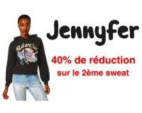 Jennyfer: 40% de réduction sur le 2ème sweat acheté