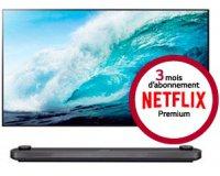 LG: 3 mois d'abonnement à Netflix premium offerts pour l'achat d'une TV LG 4K