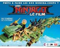 """Chérie FM: 3 x 4 places pour le dessin animé """"Lego Ninjago : le film"""" à gagner"""