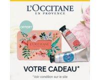 L'Occitane: Un duo mains douces offert pour toute commande