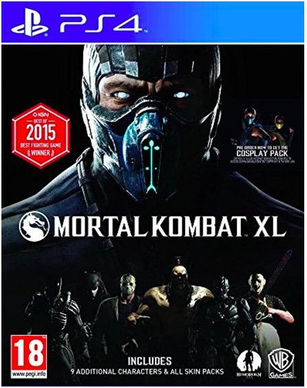 Code promo Base.com : Jeu Mortal Kombat XL sur PS4 à 16,66€