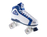 Decathlon: Rollers Quad Adulte Fila Blanc et bleu à 59,99€