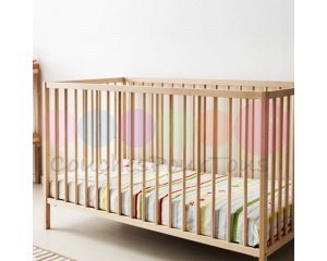 Couches Pour Tous: Lit en bois pour bébé à 62,38€ au lieu de 109,90€