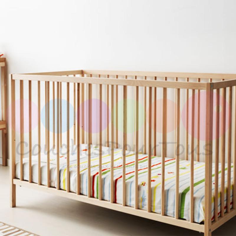 Code promo Couches Pour Tous : Lit en bois pour bébé à 62,38€ au lieu de 109,90€