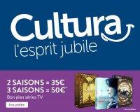 Cultura: Séries TV : 2 saisons pour 35€ ou 3 saisons pour 50€ parmi plus de 700 saisons