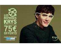 Krys: Rapportez vos anciennes lunettes = 75€ offerts en bon d'achat