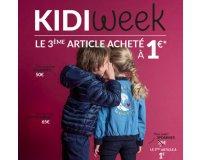 Kidiliz: [Kidi Week] 2 articles achetés = le 3ème article à 1€