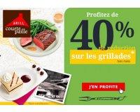 Courtepaille: - 40 % sur les grillades pour les titulaires de la carte Ticket Restaurant