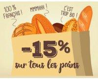 La Vie Claire: En ce moment profitez de -15% sur tous les pains en magasins
