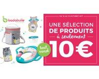 Allobébé: Sélection de produits Badabulle à seulement 10€