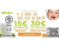 Allobébé: Jusqu'à 30€ remboursés pour l'achat d'un robot Babycook de BÉABA