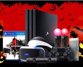Sony: 1 PS4 Pro, 1 casque VR, le jeu VR The Inpatient & 1 smartphone Xperia XZ Premium