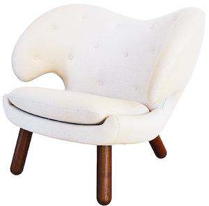 "Code promo Marie Claire : Un fauteuil ""Pelican chair"" de Finn Juhl avec Triode à gagner"