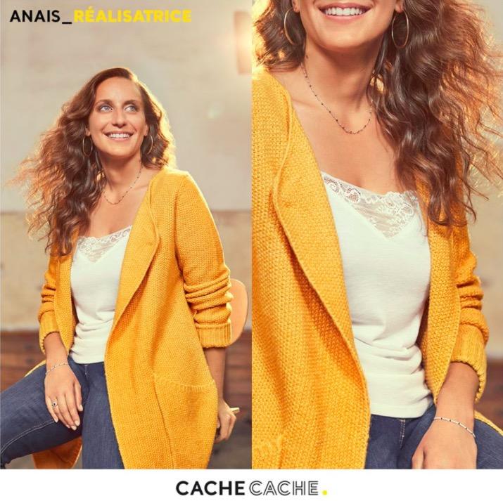 Code promo Cache Cache : 50% de réduction sur le 2e pull ou gilet acheté