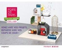 Femme Actuelle: 2 e-invitations pour la foire de Paris Hors série Maison à gagner