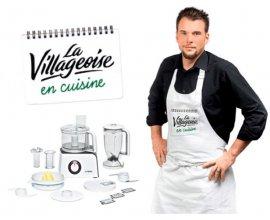 La Villageoise: 6 cours de cuisine avec le Chef Norbert et 3 robots de cuisine à gagner