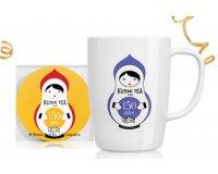Kusmi Tea: 1 mug 150 ans et un sous-tasse Kusmi Tea en cadeau dès 60€ d'achat