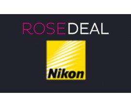 Vente Privée: [Rosedeal] Payez 50€ le bon d'achat de 100€ ou 100€ pour 200€ chez Nikon Store