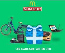 McDonald's: Le Monopoly est de retour chez Mcdonald's : des millions de cadeaux à gagner