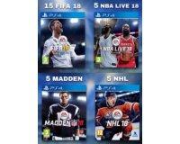 Jeuxvideo.com: 30 jeux vidéo sportifs sur PS4 à gagner