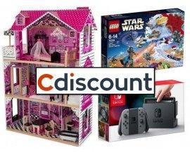 Cdiscount: 19% remboursés en bon d'achat sur les rayons Jouets, Jeux-Vidéo et Loisirs