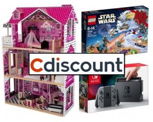 19 rembours s en bon d 39 achat sur les rayons jouets jeux vid o et loisirs cdiscount. Black Bedroom Furniture Sets. Home Design Ideas