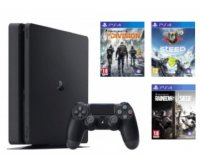 Cultura: 1 console PS4 achetée = 3 jeux Ubisoft offerts