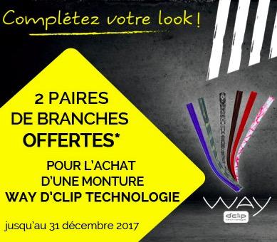 Code promo Les Opticiens Atol : 2 Paires de branches offertes pour l'achat d'une monture